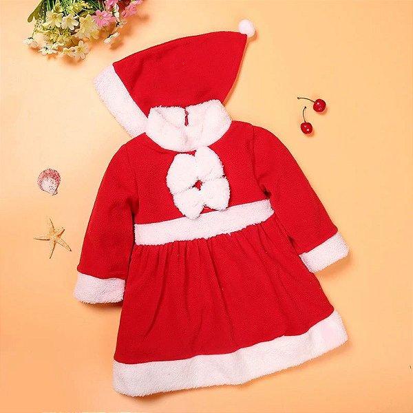 Vestido e Gorro Mamãe Noel