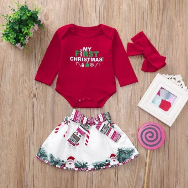 Conjunto Christmas Girls