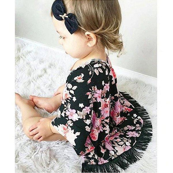 Kimono Floral Infantil