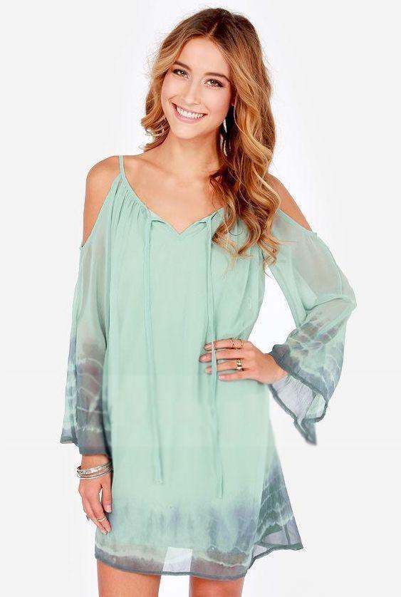 Vestido Verde Verão