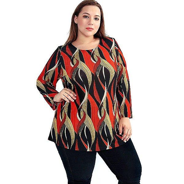 Blusa Multicolor Plus Size