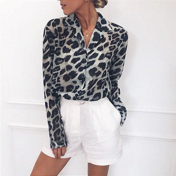 Camisa Leopard - 4 cores