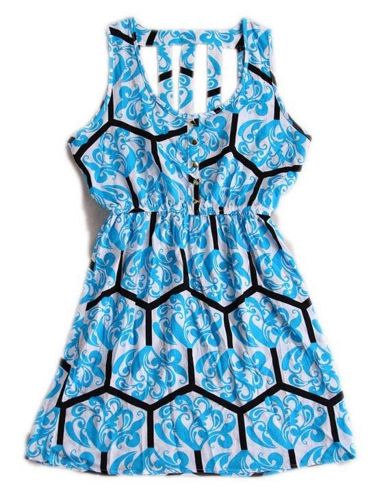 Vestido Estampado - 3 cores