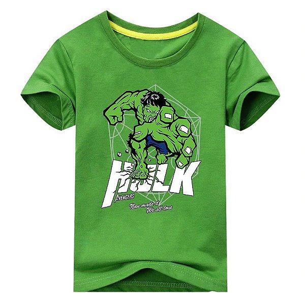 Camiseta Heróis - 3 cores