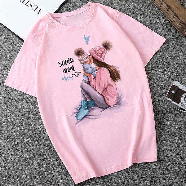 T-shirt Boy Mom - 2 cores
