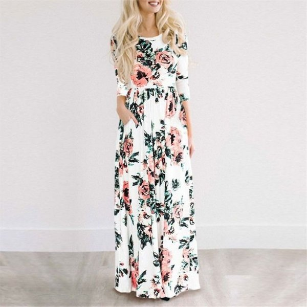 Vestido Longo Boho - 5 cores