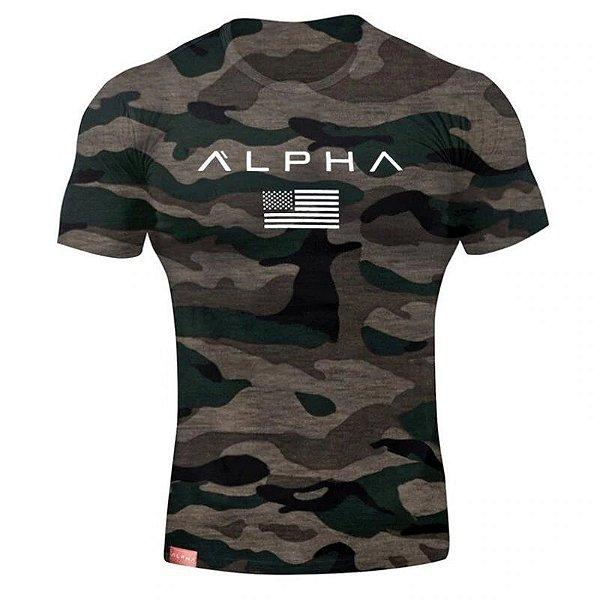 Camiseta Alpha - 4 cores