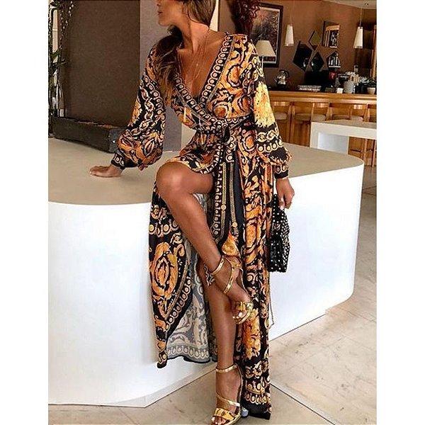Vestido Longo Boemia