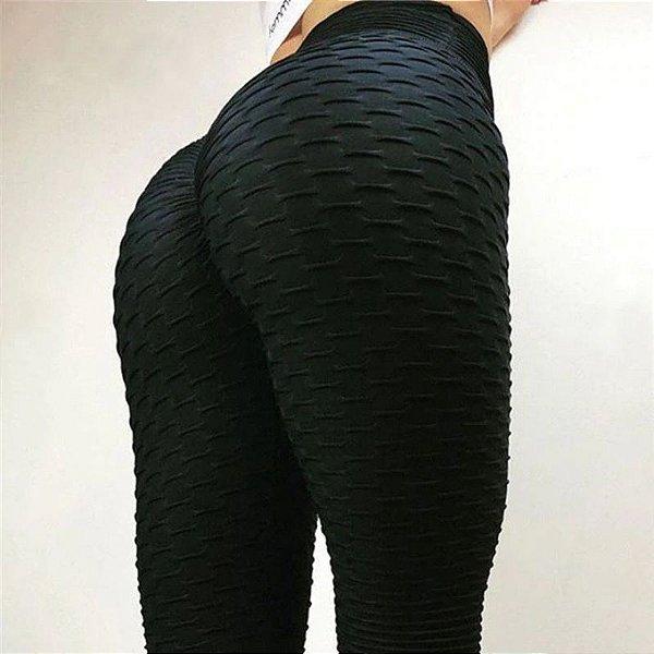 Calça Legging Texturizada - 3 cores