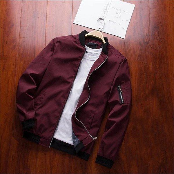 Jaqueta com Bolso Lateral - 5 cores