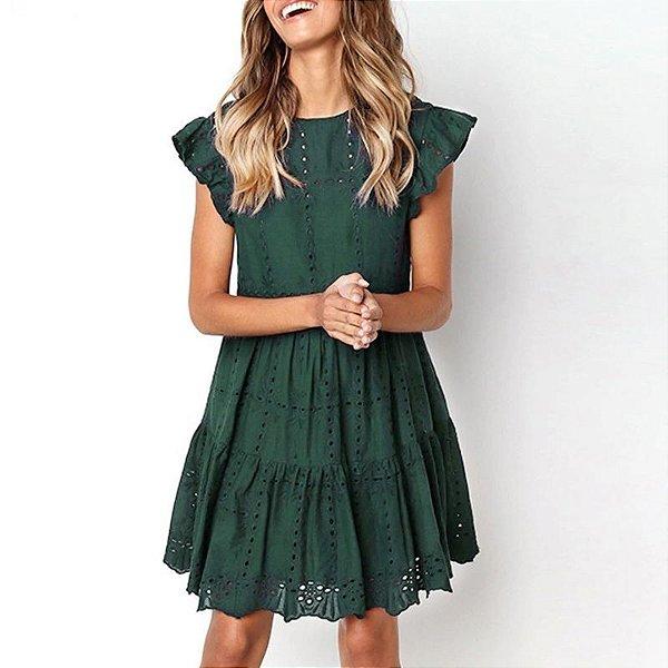 Vestido de Lese - 3 cores