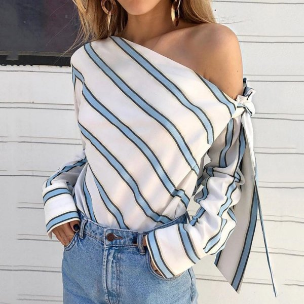 Blusa Listrada - 2 cores
