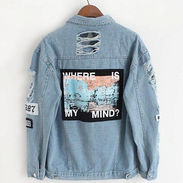 Jaqueta Jeans Mind