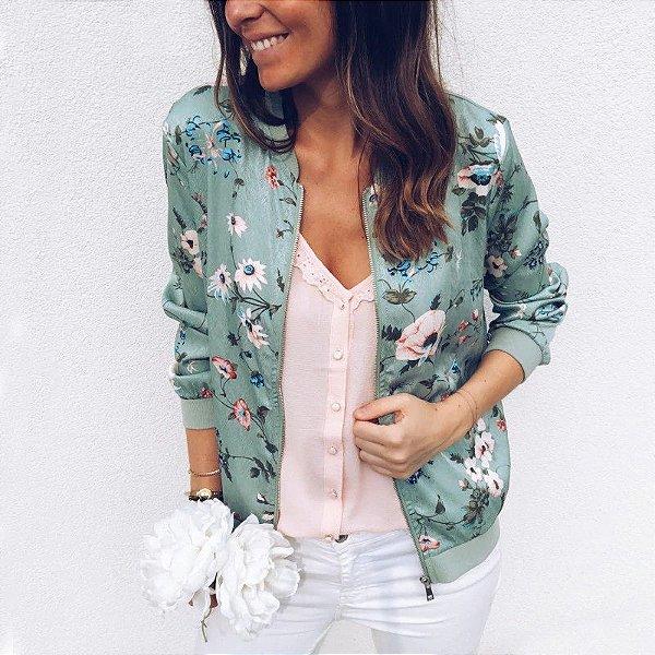 Jaqueta Floral - 3 cores