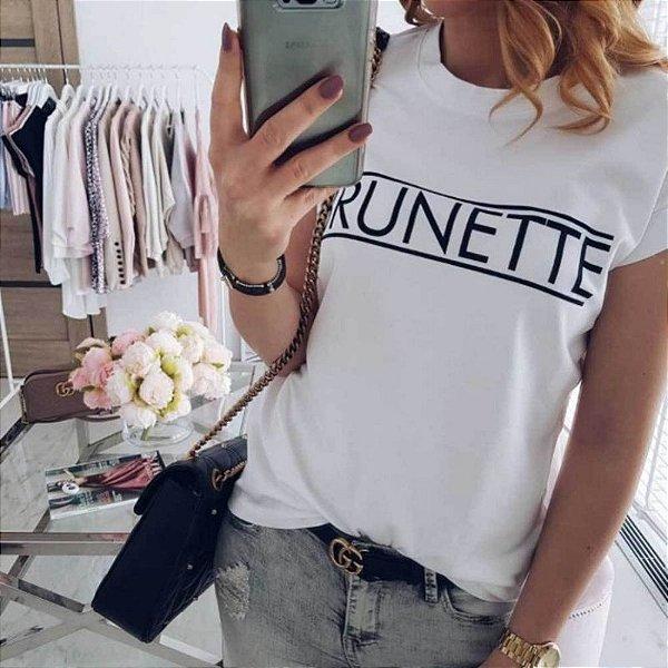 T-shirt Brunette - 4 cores