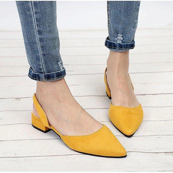 Sapato Classic Slingback - 4 cores