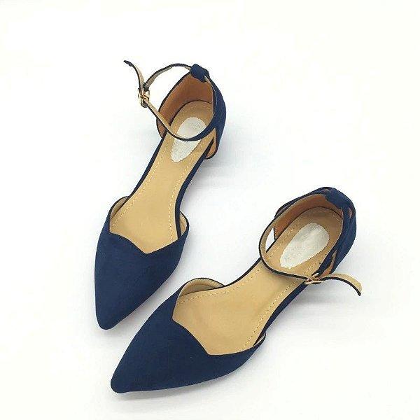 Sapato Camurça com Fivela - 4 cores