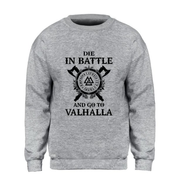 Moletom Valhalla  - 6 cores