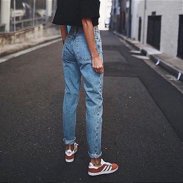 Calça Jeans Boyfriend - 2 cores