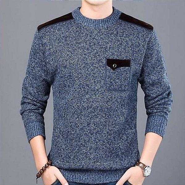 Suéter Masculino Mescla - 3 cores