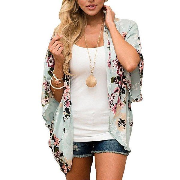Kimono Floral - 2 cores