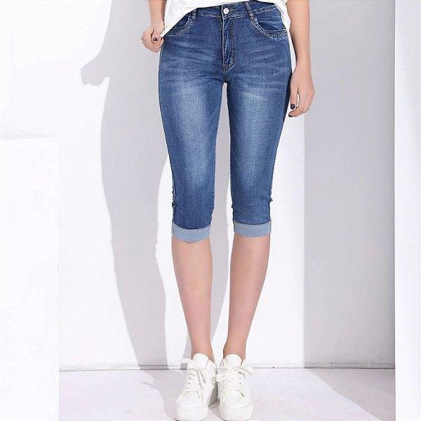 Calça Jeans Capri - 3 cores