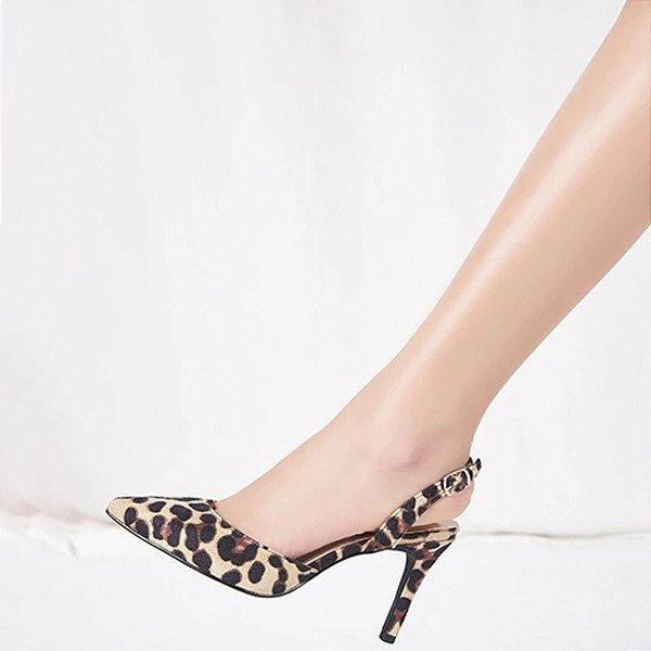 Scarpin Leopard Print - 3 cores