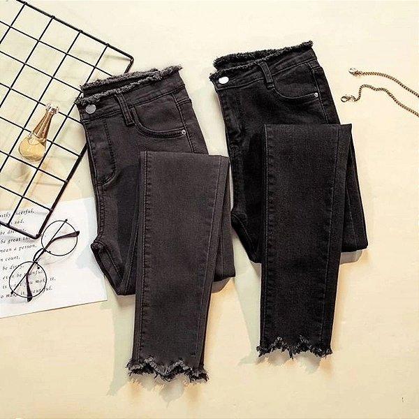 Calça Jeans Desfiado - 2 cores