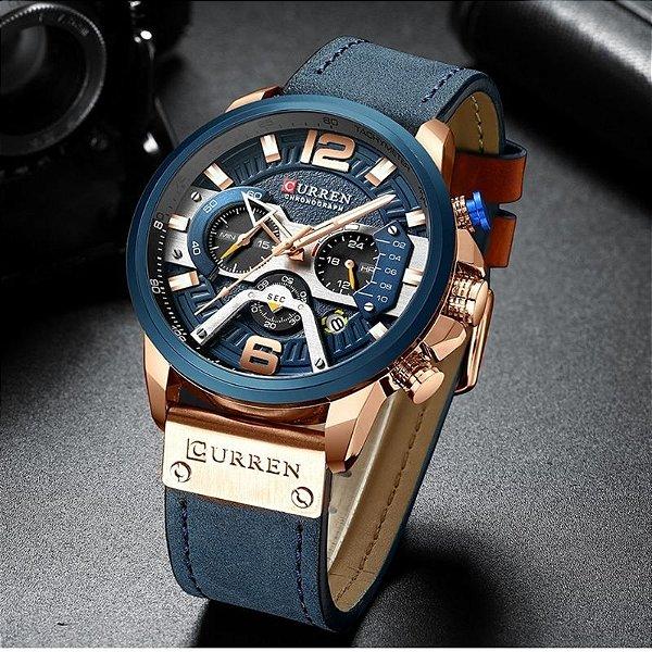 Relógio Lux CURREN - 5 cores