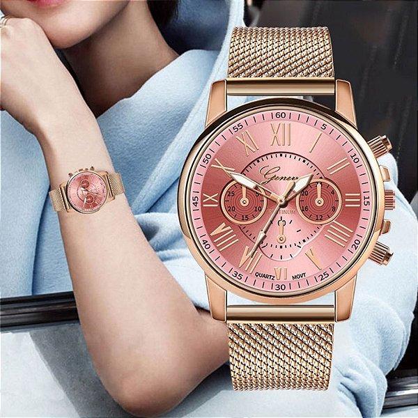 Relógio Girls GENEVA - 5 cores
