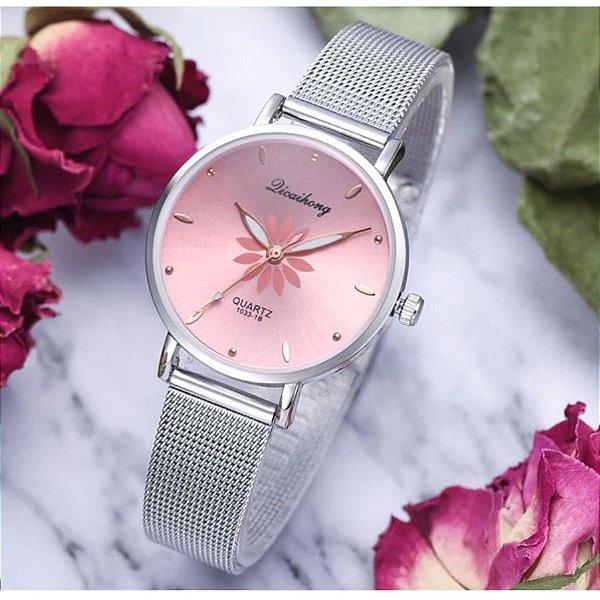 Relógio Flowers - 5 cores