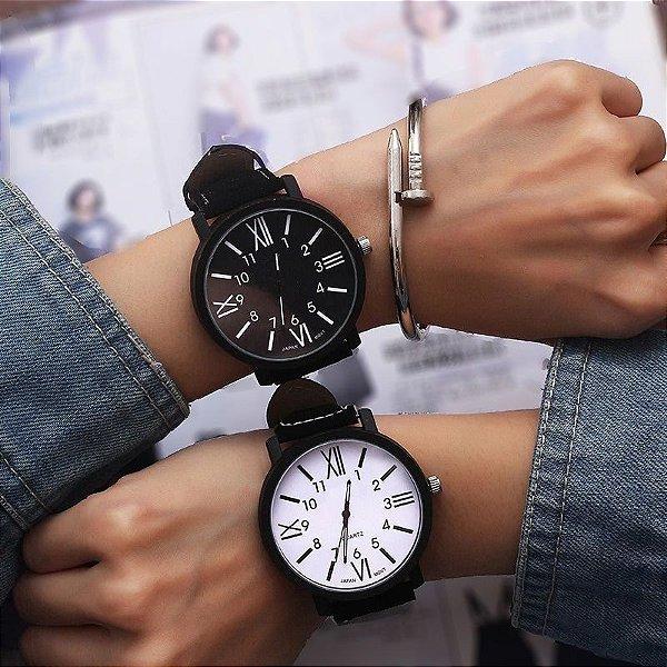 Relógio Black White - 2 cores