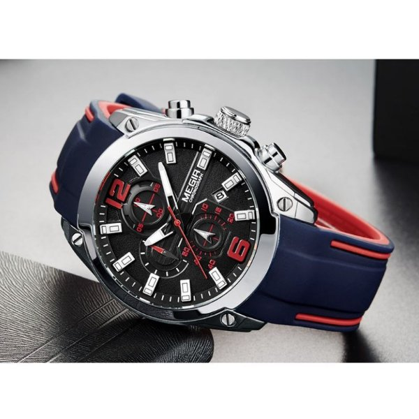 Relógio Stopwatch MEGIR - 3 cores