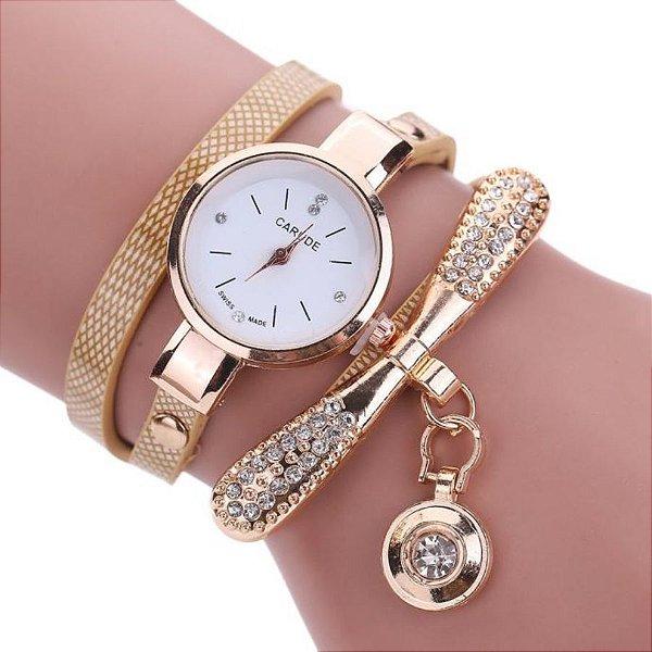 Relógio Pulseira Snake - 4 Cores
