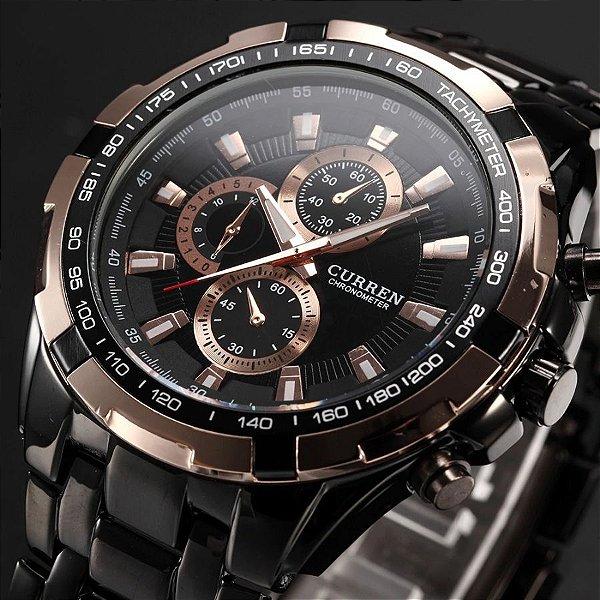 Relógio Black CURREN - 4 cores