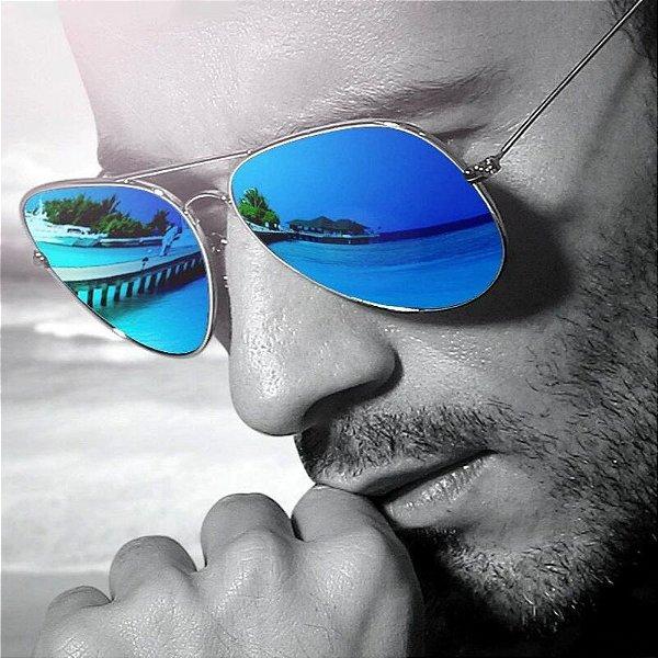 Óculos de Sol Aviador Clássico - 7 cores