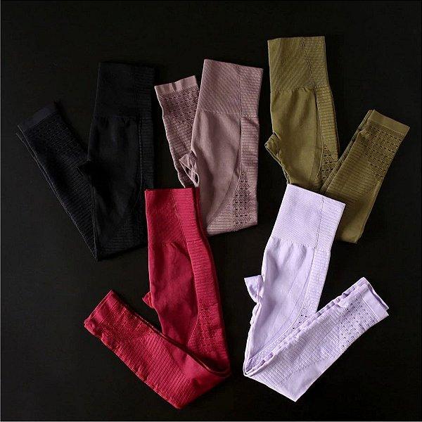 Legging Detalhe Vazado - 7 cores