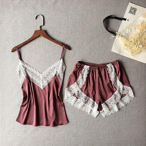 Pijama Delicate - 3 cores