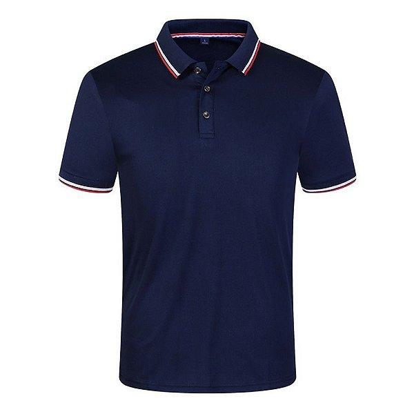 Camiseta Polo Manga Curta - 6 cores