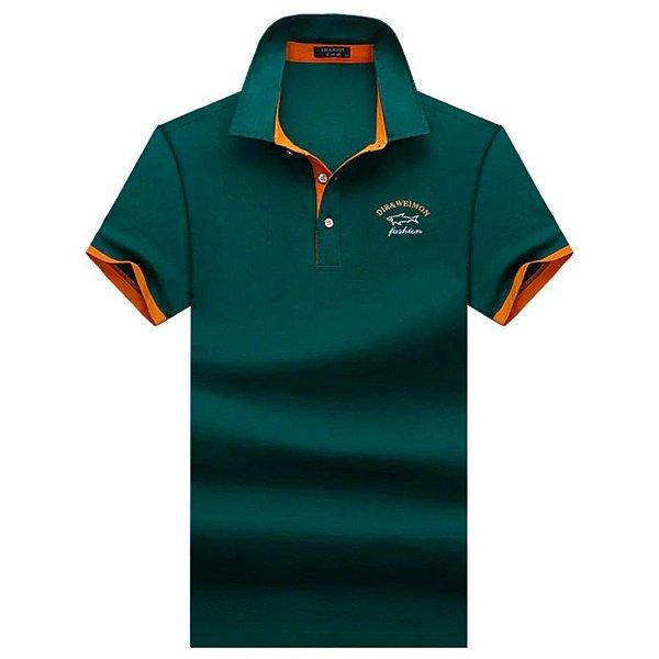 Camiseta Polo Fashion - 6 cores