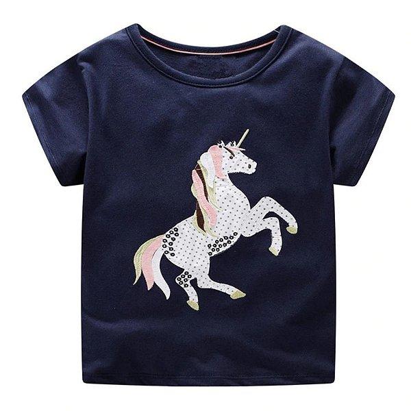 Blusa Estampa de Unicórnio - 2 cores