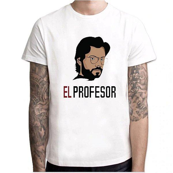 Camiseta La Casa - 3 estampas