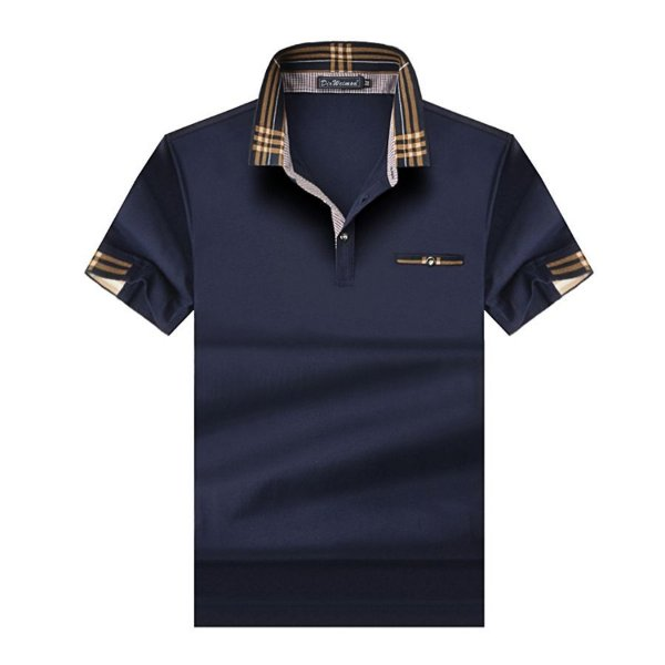 Camiseta Polo Gola Estampada - 3 cores