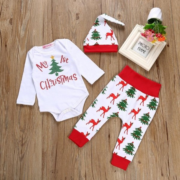 Conjunto My 1st Christmas