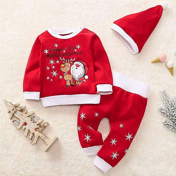 Conjunto Christmas com Gorro
