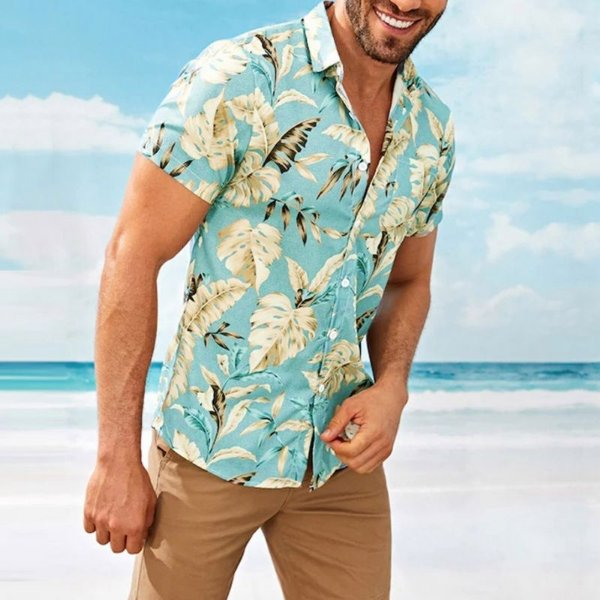 Camisa Casual Plants
