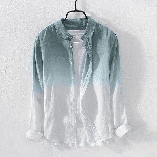 Camisa Casual Degradê - 4 cores