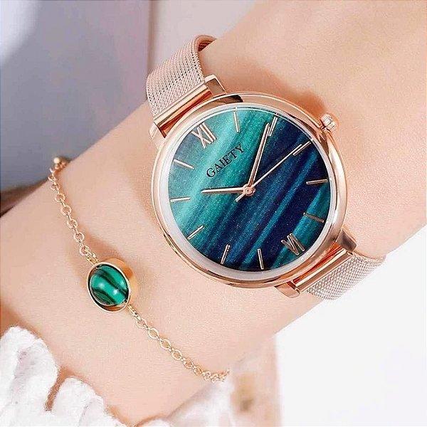 Relógio Quartzo - 5 cores
