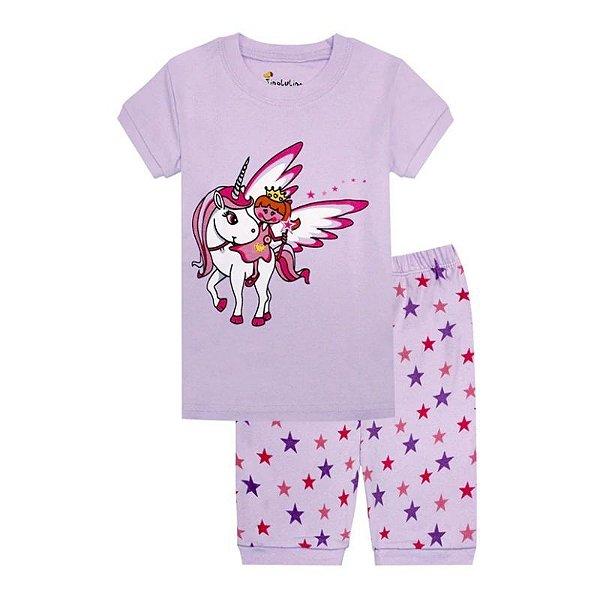 Pijama Estampado - 6 cores