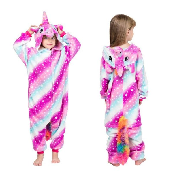 Pijama Kigurumi Unicórnio - 4 cores
